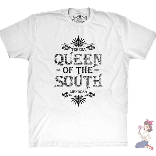Queen of The South White tshirt