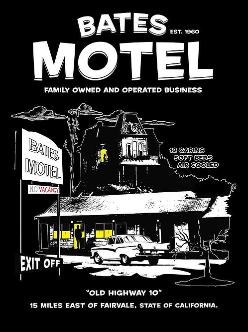 Bates Motel Family Owned Business Poster