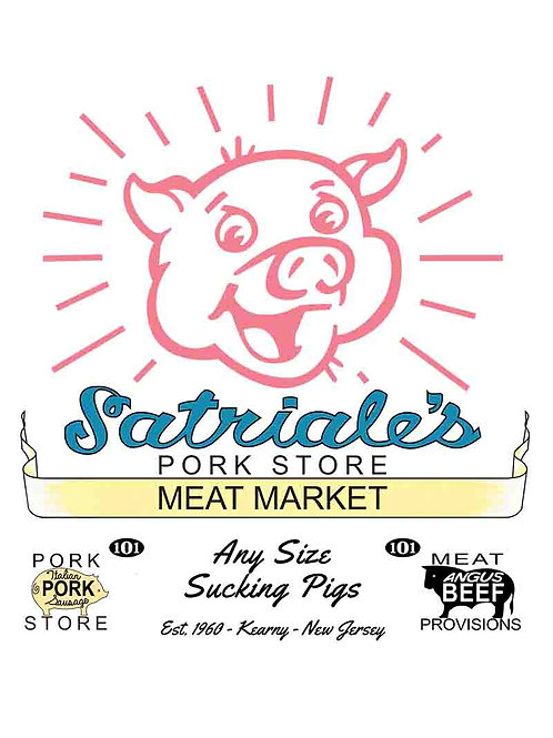 The Soprano's - Satriale's Pork And Meat Store Poster