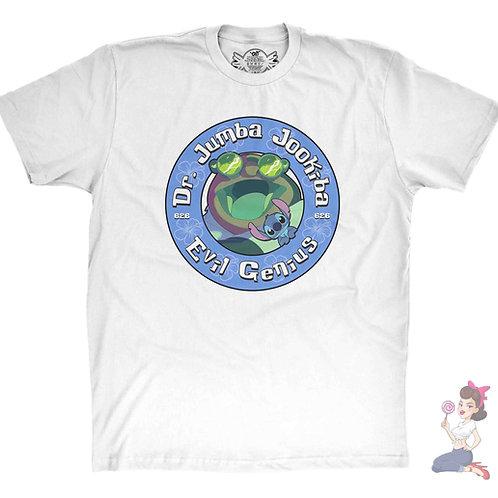 Jumba Evil Genius white t-shirt