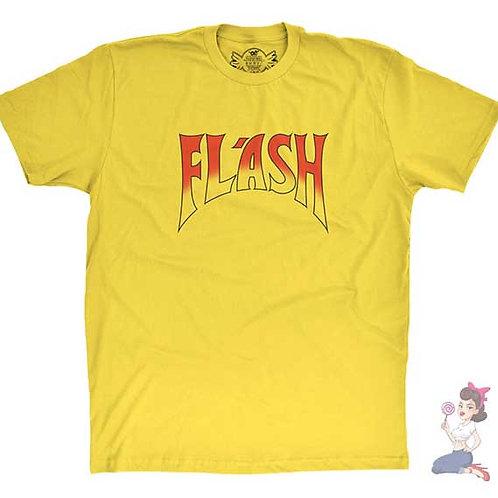 Flash Gordon Flash T-shirt flat yellow t-shirt