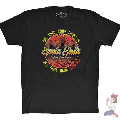 The lost boys one thing about living in Santa Carla t-shirt