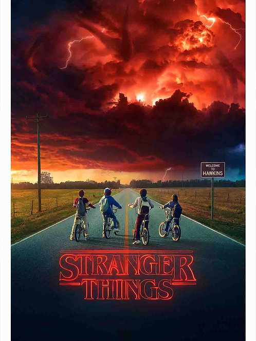 Stranger Things TV Poster