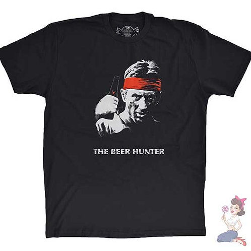 The Deer Hunter flat black t-shirt