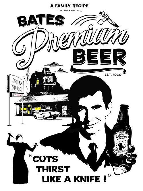 Bates Motel Bates Premium Beer Poster