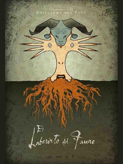 Pan's Labyrinth Spanish Movie Poster
