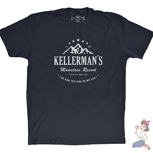 Kellerman's Mountain Resort flat navy t-shirt
