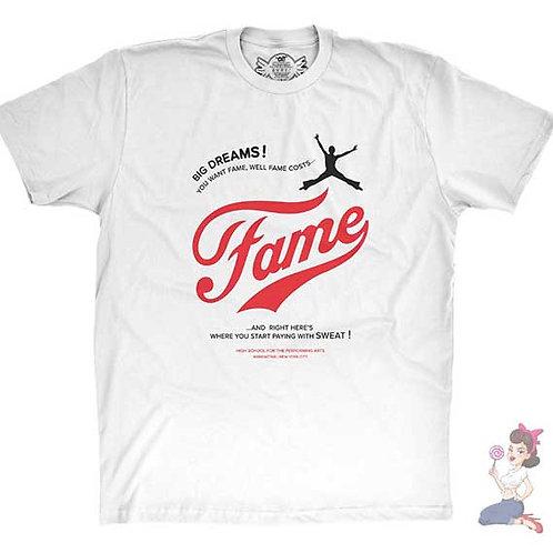 Fame Big Dreams flat white t-shirt