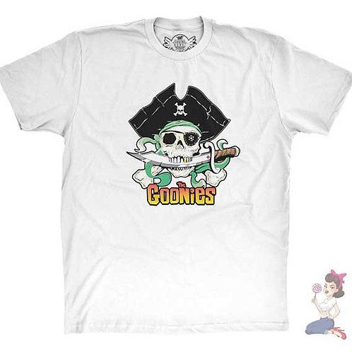The Goonies flat white t-shirt