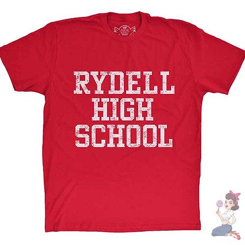 Rydell high school flat red t-shirt