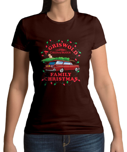 A Griswold Christmas Candywrap Design Movie Inspired T