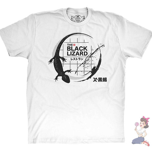 Kate The black Lizard Restaurant t-shirt