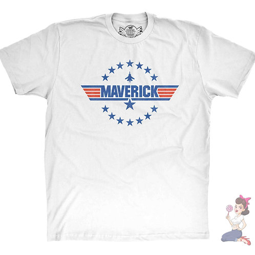 Top Gun Maverick White T-Shirt
