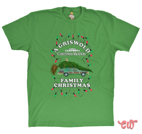 A Griswold Christmas Vacation Candywrap Design Movie