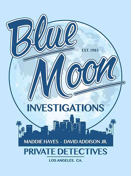 Moonlighting Blue Moon Investigations Television Poster