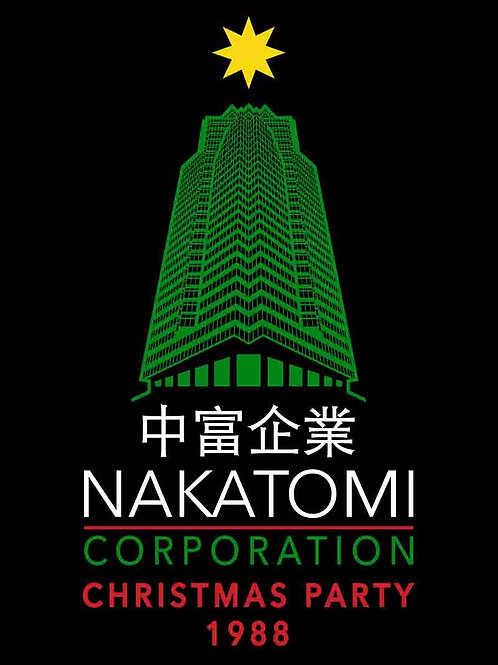 Die Hard Nakatomi Corporation Christmas Party 1988 Movie Poster
