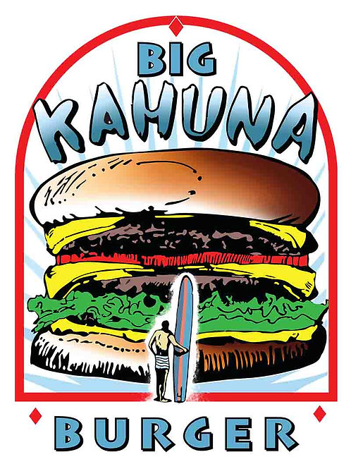 Big Kahuna Burger Movie Poster