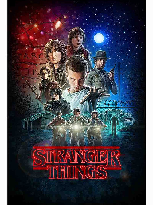 Stranger Things Television Poster