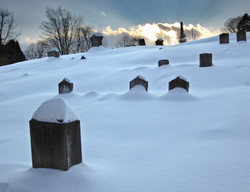 Rays over the graves