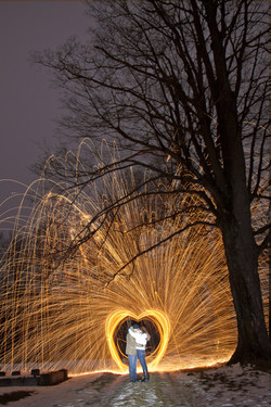 When Our Eyes Meet Sparks Fly Heart2