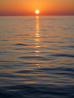 Open Water Sunset