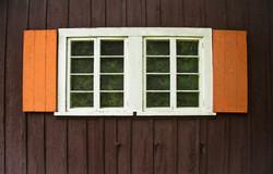 Orange Shutters
