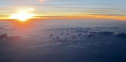 Sunset at 30,000' #2