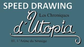 [SPEED DRAWING] LA COUVERTURE DES CHRONIQUES 01 !