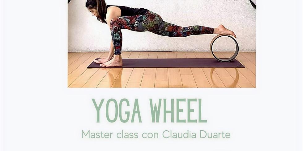 Master class con yoga wheel