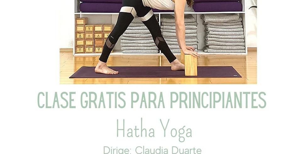 Clase Gratis de Yoga para Principiantes
