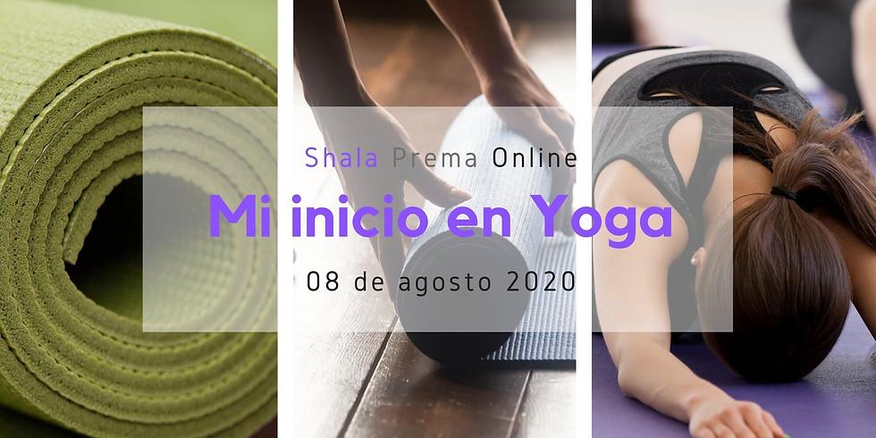 Mi inicio en yoga: Yoga para Principiantes