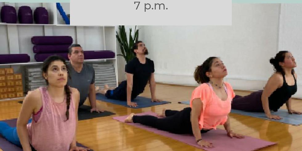Clase especial de yoga vinyasa y yoga nidra cierre de año