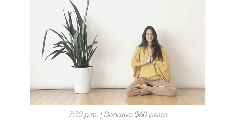 Meditación; con presencia y energía