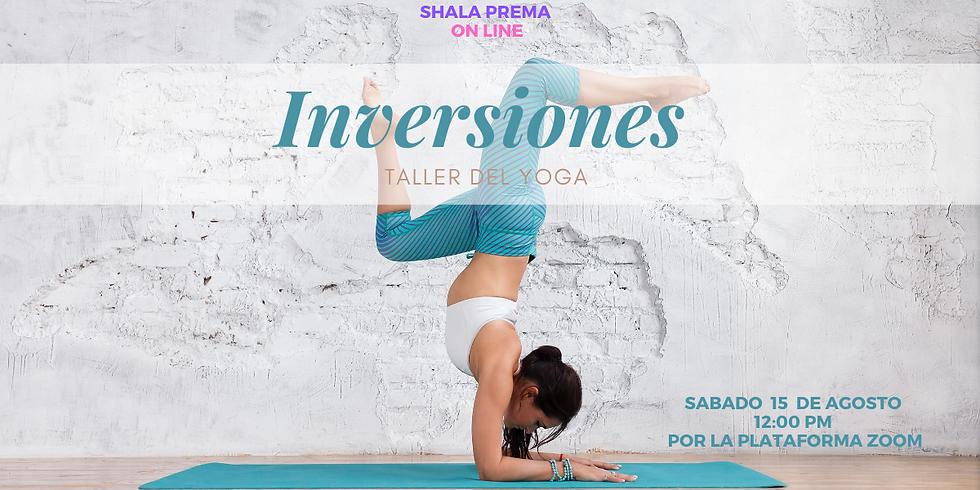 Taller Yoga :  inversiones para principiantes