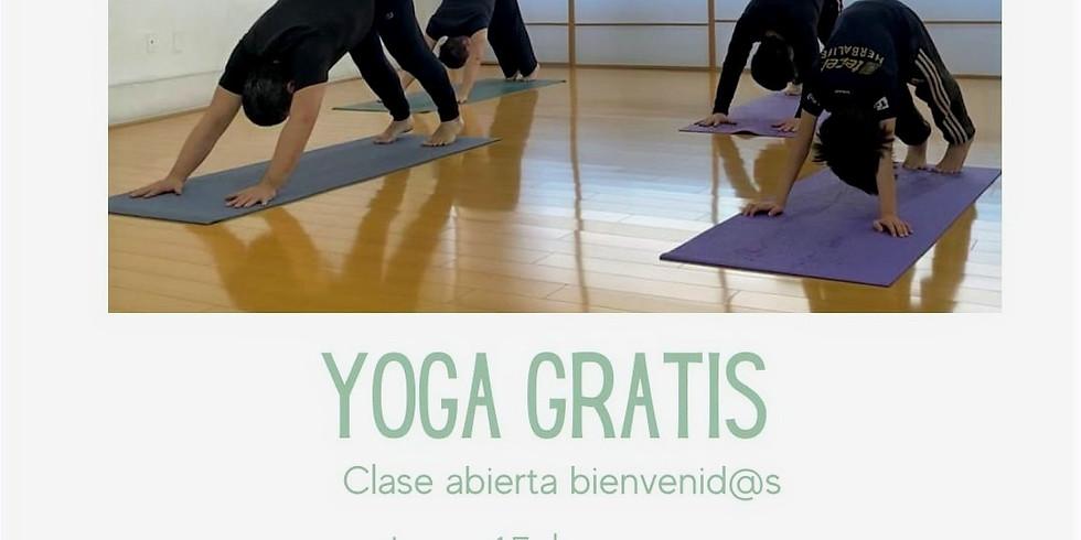 Clase especial de yoga gratis