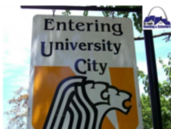 University, Missouri Roofing Company
