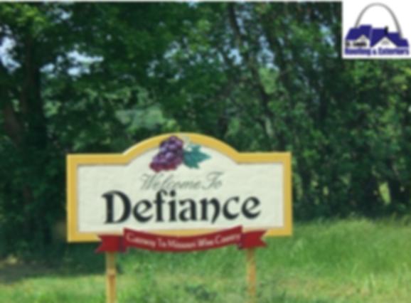 Defiance, Missouri Roofing Company