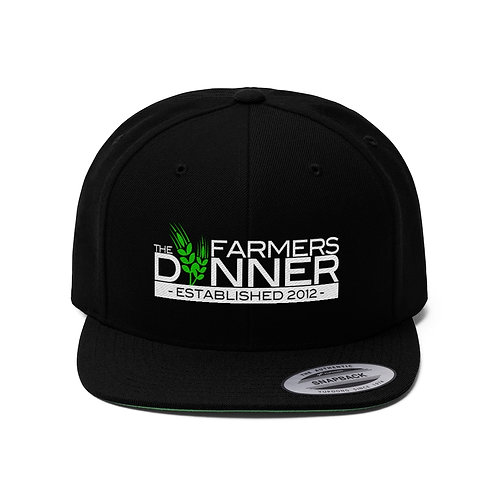 The Farmers Dinner Unisex Snapback Hat