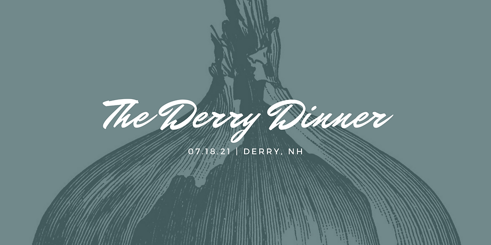 CANCELLED TFD90: The Derry Dinner