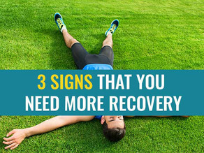 3 Signs that you need more recovery time in your running programme