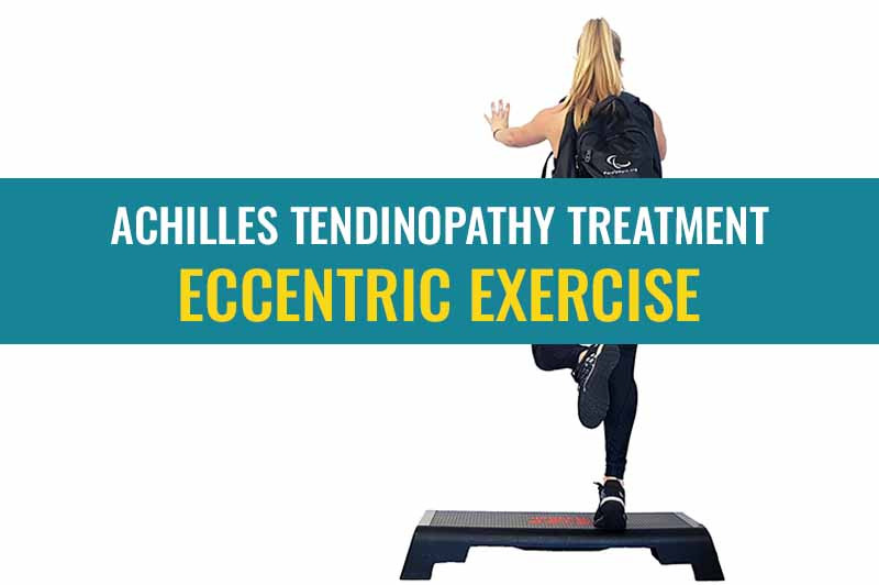 What type of exercise works for treating Achilles tendinopathy and why? - Eccentric Exercises