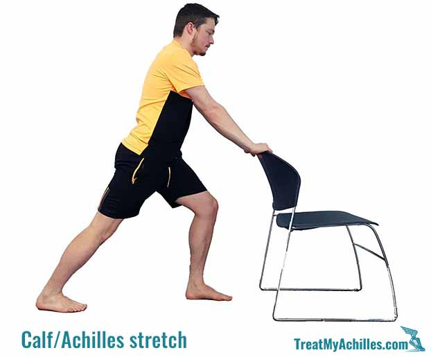 Calf/Achilles tendon stretch