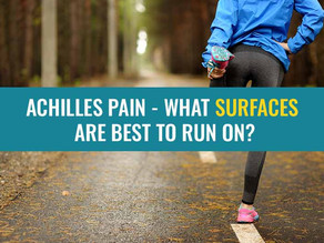 Achilles tendon pain – what surfaces are best to run on?