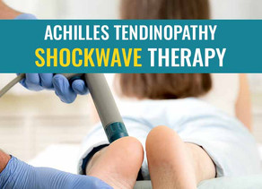Shockwave treatment for Achilles tendinopathy