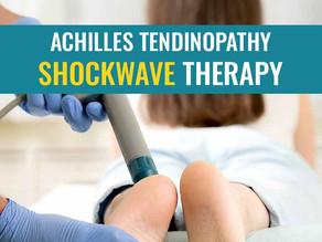Shockwave treatment for Achilles tendinopathy