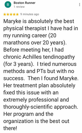 Online Physio Review: Boston Runner