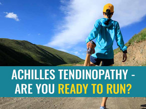 Return to running after Achilles tendinopathy: 5 things to consider