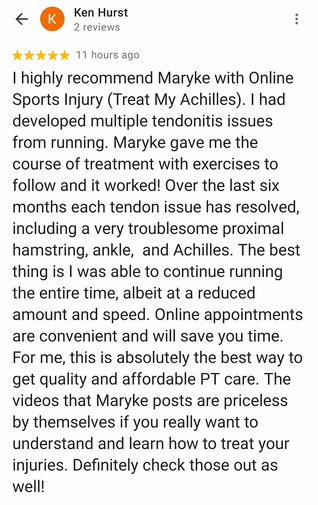 Online Physio Review: Ken Hurst