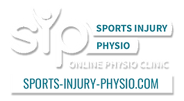 Logo: Sports Injury Physio is an online physio clinic. Click the link or visit sports-injury-physio.com to find out more.
