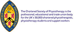 Find out more about te Chartered Society of Physiotherapy